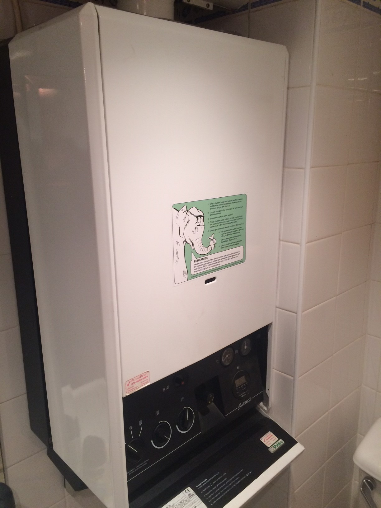 LPG boiler and an Evohome internet control system - Hot ...